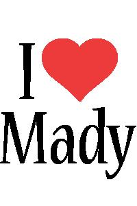 Mady i-love logo