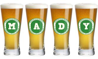 Mady lager logo