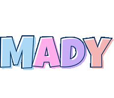 Mady pastel logo