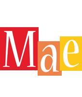 Mae colors logo