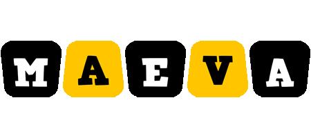 Maeva boots logo