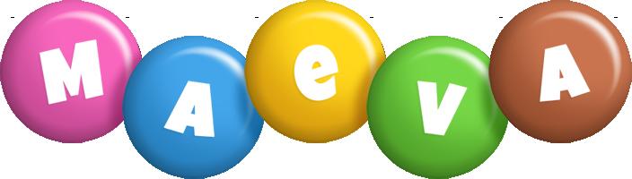 Maeva candy logo