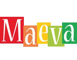 Maeva colors logo