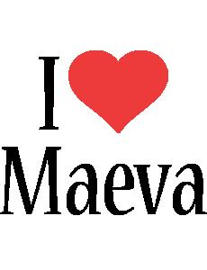 Maeva i-love logo