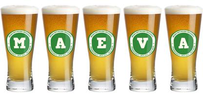 Maeva lager logo