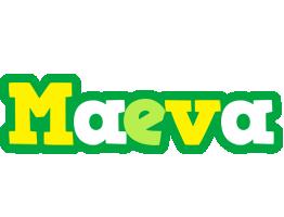 Maeva soccer logo