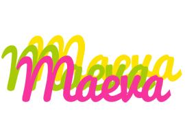 Maeva sweets logo