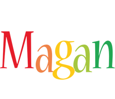Magan birthday logo