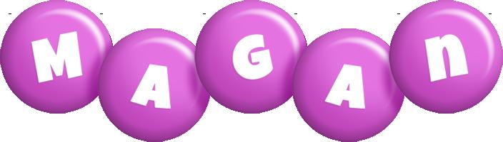 Magan candy-purple logo