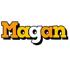 Magan cartoon logo