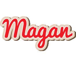 Magan chocolate logo
