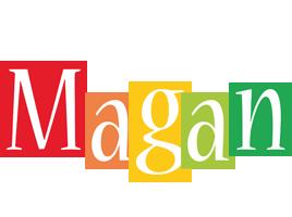 Magan colors logo