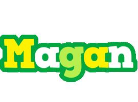 Magan soccer logo