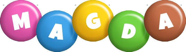 Magda candy logo