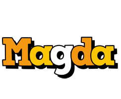 Magda cartoon logo