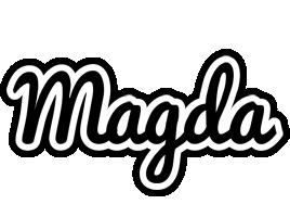 Magda chess logo