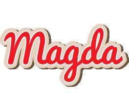 Magda chocolate logo
