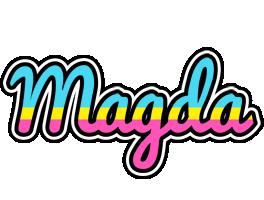 Magda circus logo