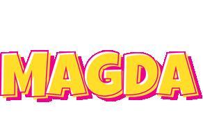 Magda kaboom logo