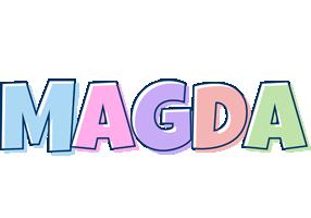 Magda pastel logo