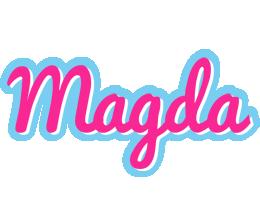 Magda popstar logo