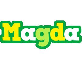 Magda soccer logo
