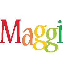 Maggi birthday logo