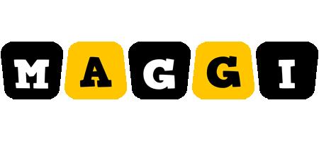 Maggi boots logo