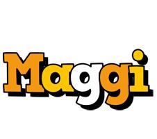 Maggi cartoon logo