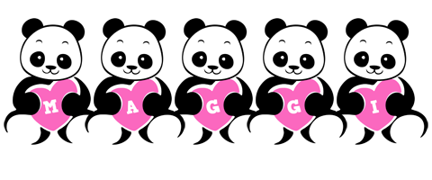 Maggi love-panda logo