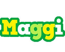 Maggi soccer logo