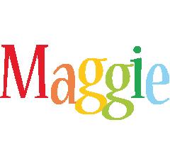 Maggie birthday logo