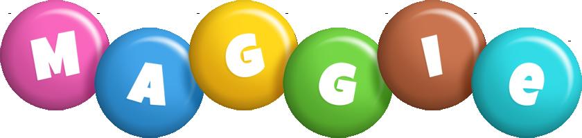 Maggie candy logo
