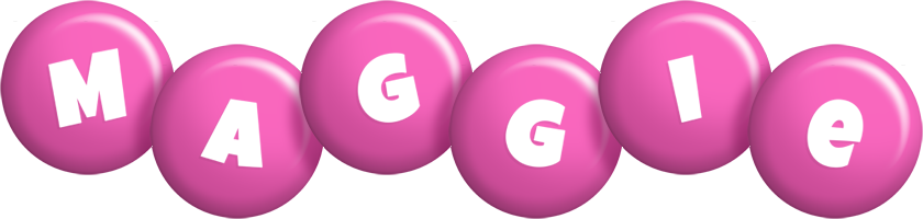 Maggie candy-pink logo