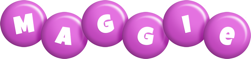Maggie candy-purple logo