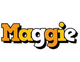 Maggie cartoon logo