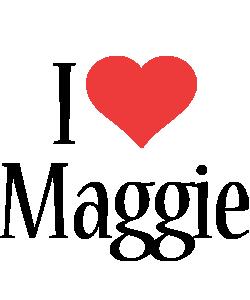 Maggie i-love logo