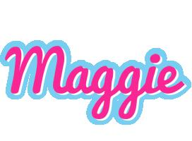 Maggie popstar logo
