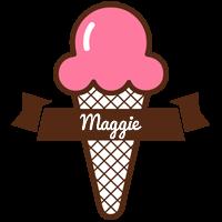 Maggie premium logo