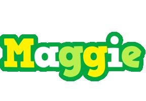 Maggie soccer logo