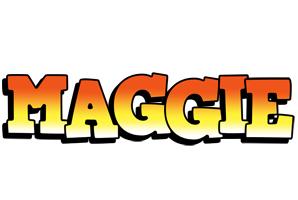 Maggie sunset logo