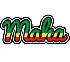 Maha african logo