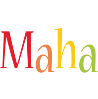 Maha birthday logo