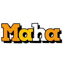 Maha cartoon logo
