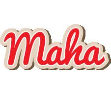 Maha chocolate logo