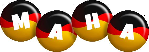 Maha german logo