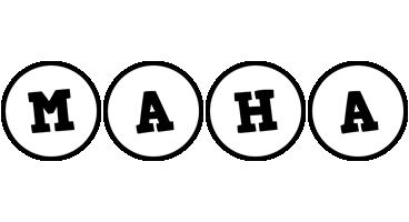Maha handy logo
