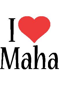Maha i-love logo