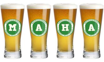 Maha lager logo