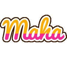 Maha smoothie logo